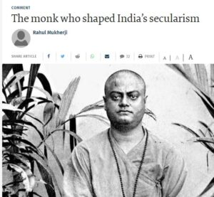 Monk shaping India' secularism