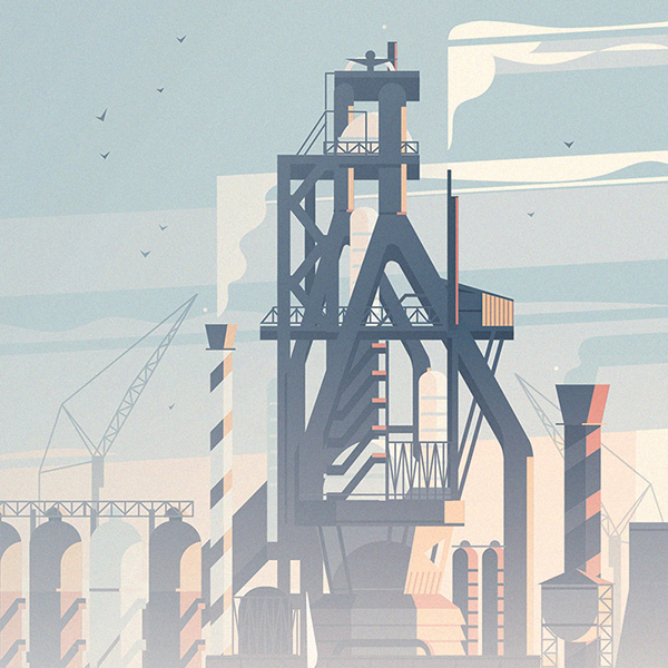 """INDUSTRIAL ECOLOGY"" by CRUSCHIFORM . is licensed under CC BY-NC-ND 4.0 cc-iconby license iconnc license iconnd license icon"